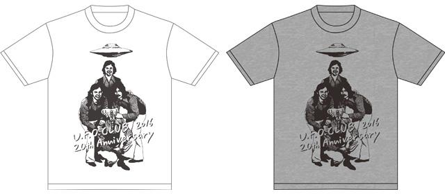 【U.F.O.CLUB 20周年記念限定Tシャツ】
